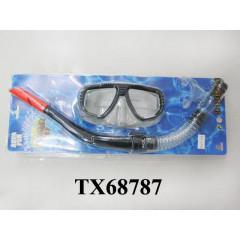 Набор: маска + трубка для ныряния TX68787