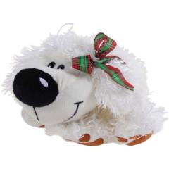 Собака с бантиком 26см Fluffy Family 93427