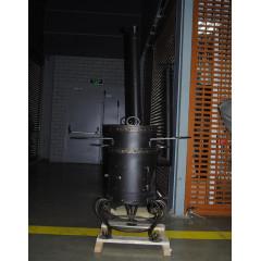 Печь для казана 16-18 литров с трубой  92х42х100мм
