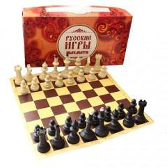 Шахматы «Айвенго» с доской из микрогофры