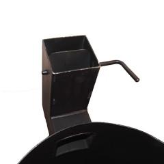 Казан чугунный 22 л + Печь с трубой (комплект)