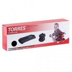 Утяжелители универсальные TORRES 1 кг серо-черный
