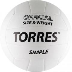 Мяч волейбольный Torres Simple арт. V30105 р.5