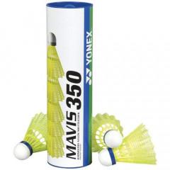 Воланы для бадминтона Yonex  Mavis 350 Yellow-Middle уп. 6шт