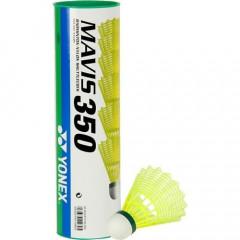 Воланы для бадминтона Yonex Mavis 350 Yellow-Slow уп. 6шт