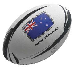 Мяч для регби GILBERT Supporter New Zealand арт.45059205 р. 5