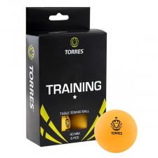 Мяч для настольного тенниса Torres Training 1* арт.TT0015