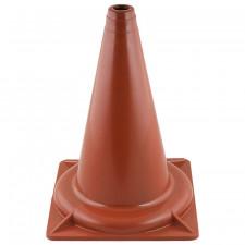 Конус тренировочный , высота 32 см, основание 24х24 см, жесткий пластик, без втулки