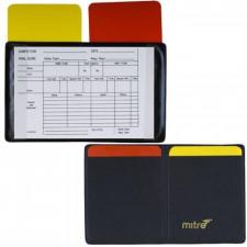 Бумажник судейский для футбола Mitre арт. A3004AAA