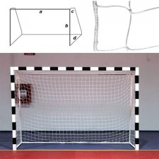 Сетка для гандбола/футзала 3D Россия Дл. 3,00 м, выс. 2,00 м