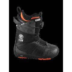 Ботинки для сноуборда Flow Micron Boa BLK (2016) р.25