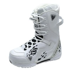 Ботинки для сноуборда Black Fire B&W white (2016) р.38