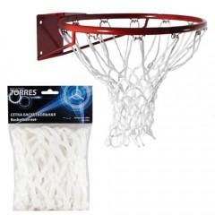 Сетка баскетбольная Torres арт.SS110500 цв. белый