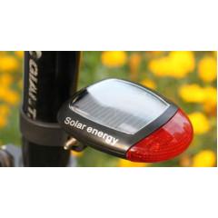 Фонарь велосипедный задний (на солн. батарее) TX80605