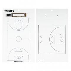 Тактическая доска для баскетбола Torres арт. TR1003B
