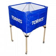 Тележка для мячей Torres на 25-30 шт. арт.SS11022