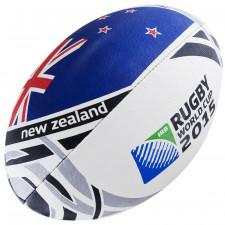 Мяч для регби GILBERT RWC2015 New Zealand Flag р.5