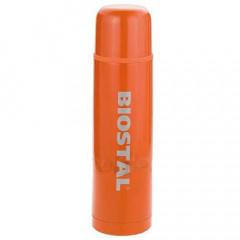 Термос BIOSTAL с узким горлом NB-500C оранжевый 0,5л